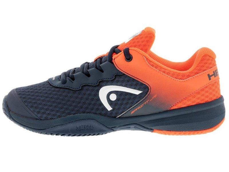 Head Sprint 3.0 Juniors Tennis Shoes Kids Dark Navy/Red
