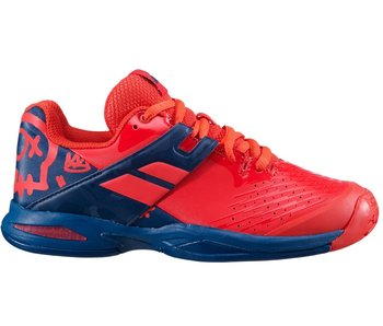 Babolat Propulse Junior Kids Tennis Shoes Red/Blue