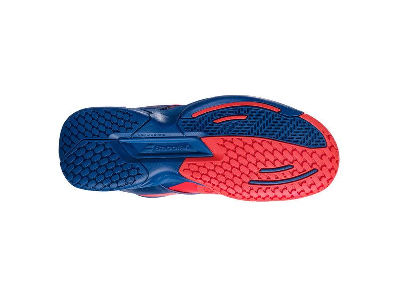 Babolat Propulse Junior Kids Tennis Shoes Red/Blue