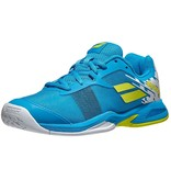 Babolat Jet AC Junior Tennis Shoes Blue/Yellow