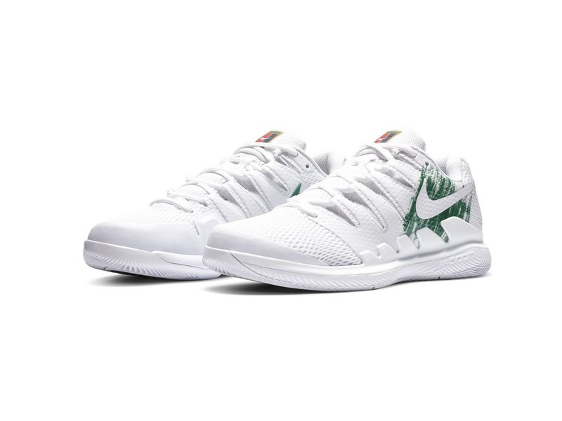 Nike Vapor X Men's Tennis Shoes White/Green
