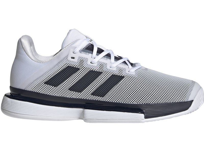Adidas Solematch Bounce Men's Tennis Shoes Ink/White