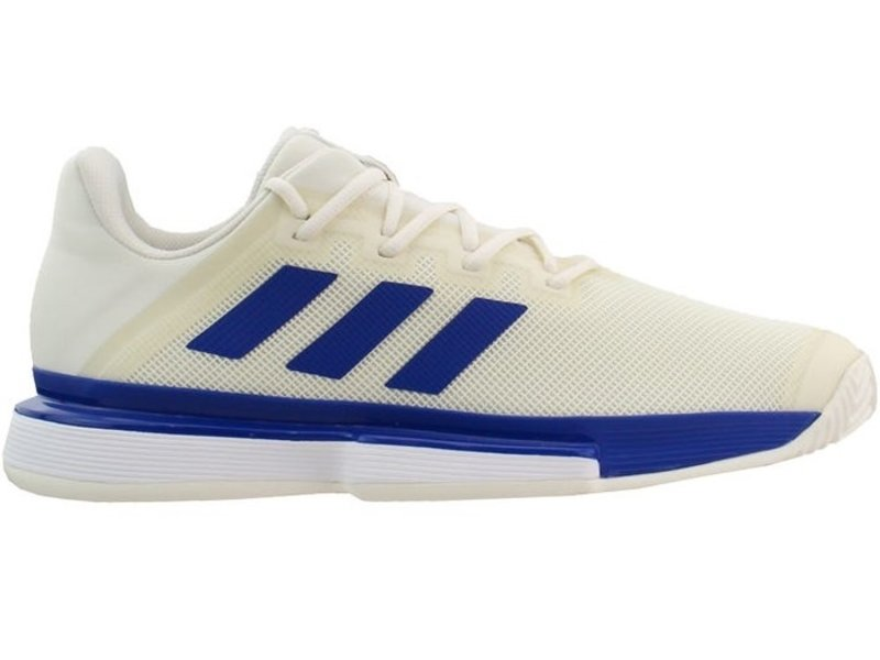 Adidas Solematch Bounce Men's Tennis Shoes White/Blue