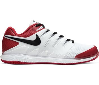 Nike Vapor X Men's Tennis Shoes White/Red University