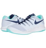 Nike Women's Nike Air Zoom Vapor X Grey/Navy Tennis Shoes