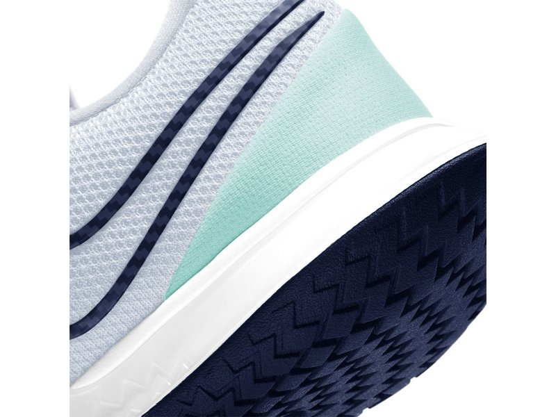 Nike Women's Vapor Cage 4 Tennis Shoes Grey/Navy