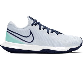 Nike Women's Vapor Cage 4 Tennis Shoes Grey/Navy