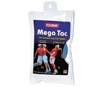 Tourna Mega Tac Overgrips Blue 10 Pack