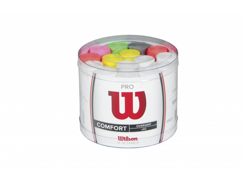 Wilson Pro Overgrip Bucket 60 Assorted