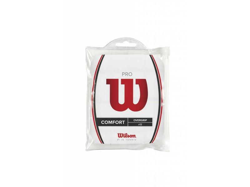 Wilson Pro Overgrip 12/30/50 Pack White