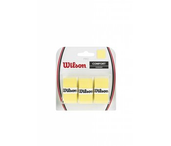 Wilson Pro Overgrip 3 Pack(Various colors)