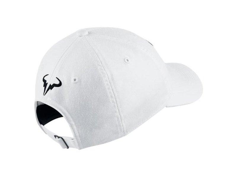 Nike Aerobill Rafa H86 Tennis Hat White/Black