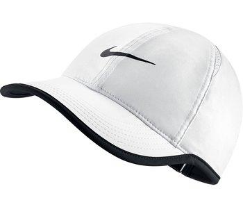 Nike Aerobill Featherlight Unisex Tennis Hat White/Black