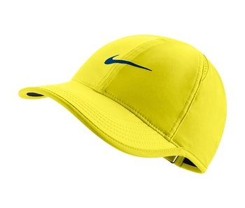 Nike Women's Aerobill Featherlight Tennis Hat Yellow