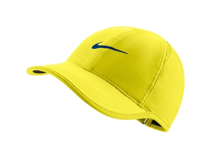 Nike Women's Aerobill Featherlight Tennis Hat Yellow