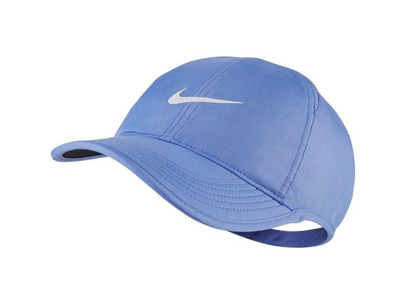 Nike Women's Aerobill Featherlight Tennis Hat Royal Pulse