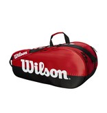 Wilson Team Red/Black 6-Pack Bag
