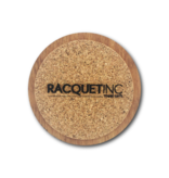 Racquet Inc Premium Wood Drink Coasters (6 Pack) Pickleball