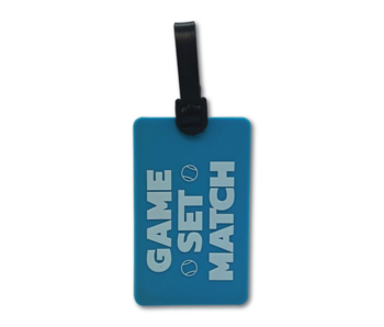 Racquet Inc Bag Tag Game Set Match