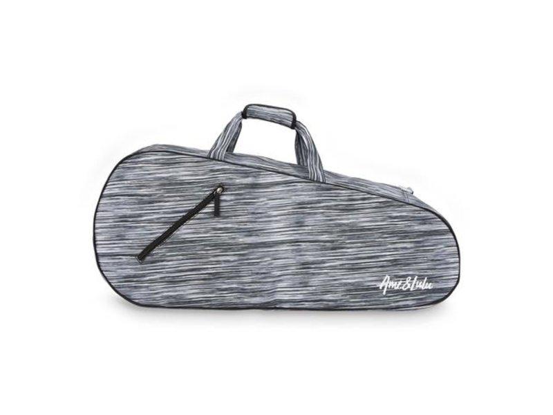 Ame & Lulu 3 Racquet Tennis Bags Black Grunge