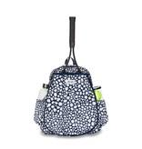 Ame & Lulu Game On Tennis Backpack Navy Leopard