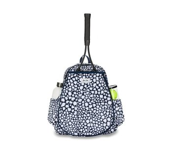 Ame & Lulu Game On Tennis Backpack Navy Leopard