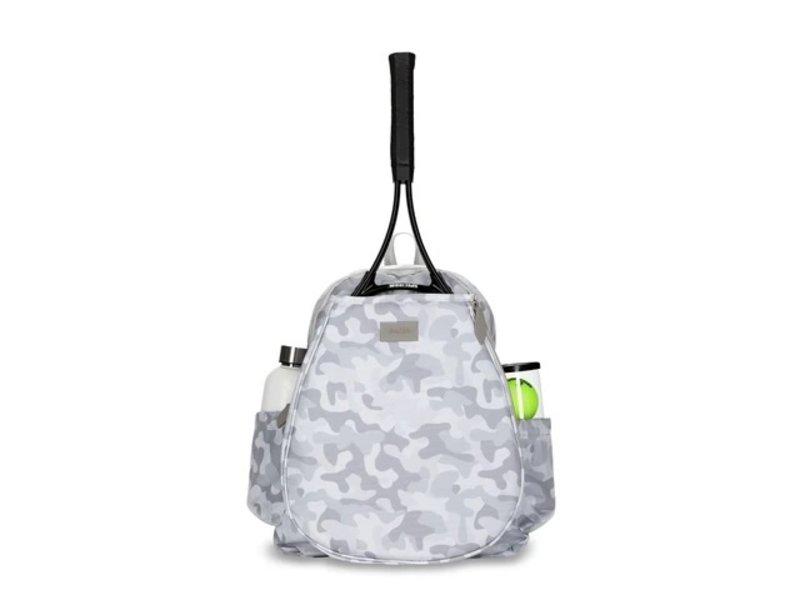 Ame & Lulu Grey Camo Game On Tennis Backpack