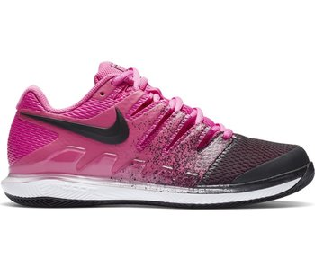 Nike Women's Air Zoom Vapor X Tennis Shoes Fuchsia/Black