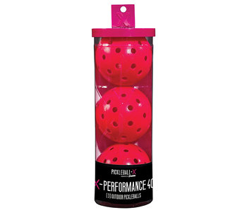 Franklin X-40 Pickleball x3 Pink
