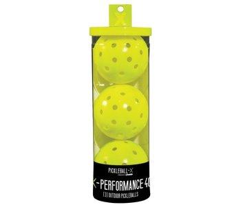 Franklin X-40 Pickleball x3 Yellow