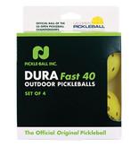 DuraFast 40 Outdoor Pickleball x4