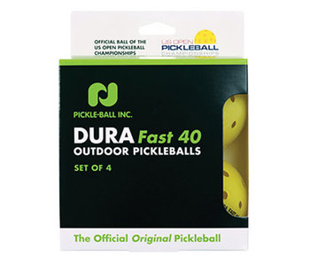 DuraFast 40 Outdoor Pickleball x4