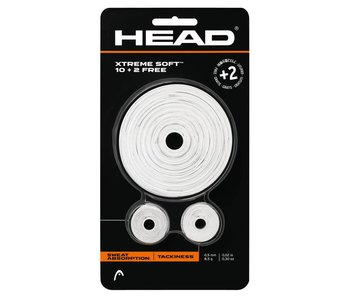 Head Xtreme Soft 10 + 2 WH Overgrip pack