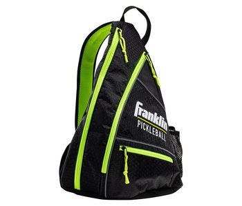 Franklin Franklin Pickleball Sling Bag Black/Optic Green