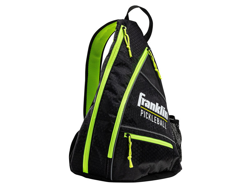 Franklin Franklin Pickleball Sling Bag Black/Optic Green