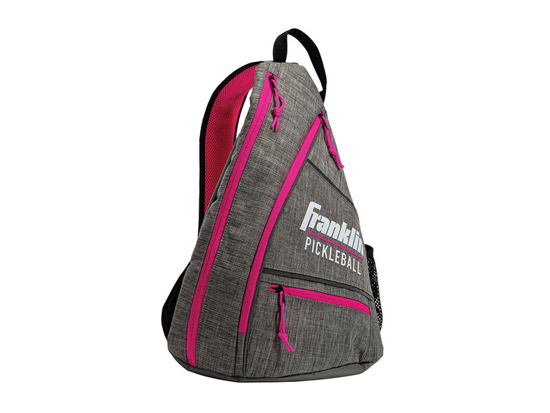 Franklin Franklin Pickleball Sling Bag Grey/Pink