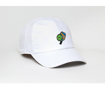 Pickleball Cap White