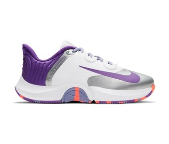 Nike GP Turbo White/Purple/Silver Women's Shoe