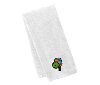Pickleball Sport Towel White