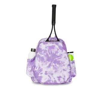 Ame & Lulu Lavendar Tie Dye Game On Tennis Backpack