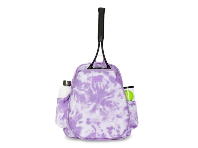 Ame & Lulu Lavendar Tie Dye Game On Tennis Backpack