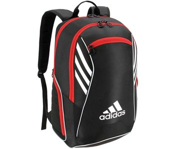 Adidas Tour Tennis Racquet Backpack Black/White/Scarlet