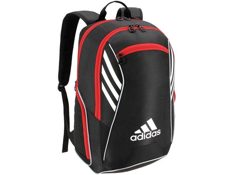 Adidas Tour Tennis Racquet Backpack Black/White/Scarlet