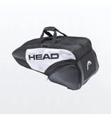 Head Djokovic 6R Pack Combi Bag White/Black