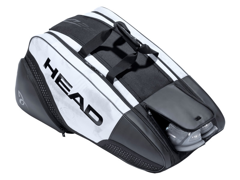 Head Djokovic 12R pack MonsterCombi Bag White/Black