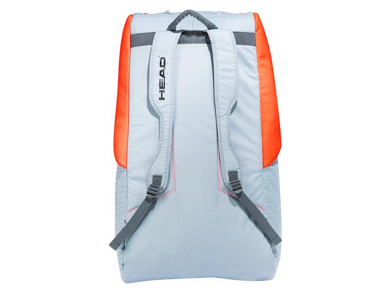Head Radical 12R MonsterCombi Bag Grey/Orange