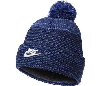 Nike Nike  knit cap with Pom Blue