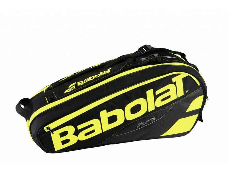 Babolat Racket Holder x6 Pure Black/Yellow Tennis Bag