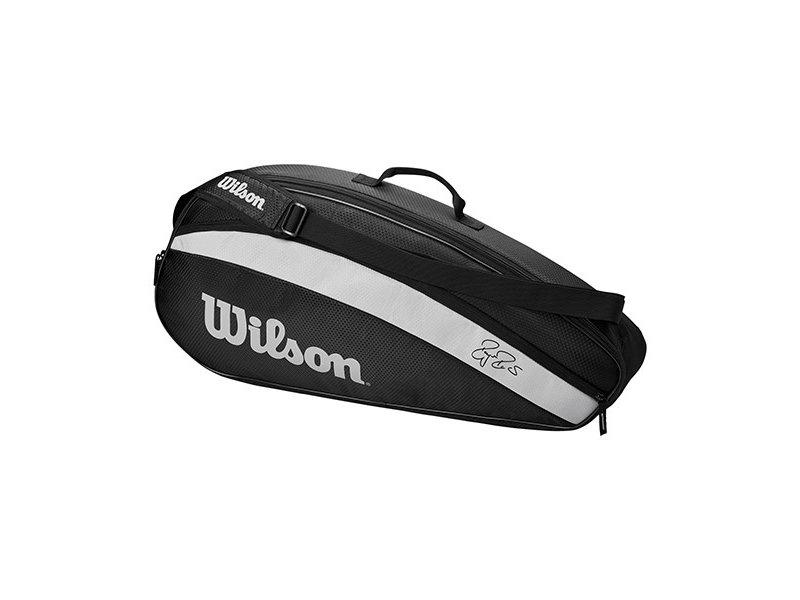 Wilson RF Team 3 Pack Black/White