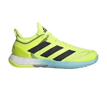 Adidas Adizero Ubersonic 4 Yellow/Black/Sky Men's Shoe
